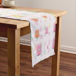 cute owls allover A Short Table Runner