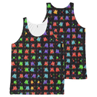 cute owls allover C All-Over-Print Tank Top