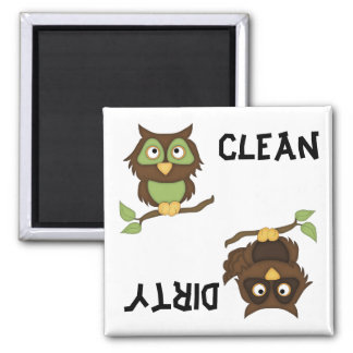 Cute Owls Dishwasher Magnet