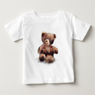 Cute Painted Teddy Bear Baby T-Shirt