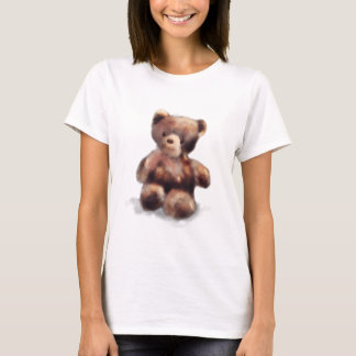 Cute Painted Teddy Bear T-Shirt