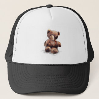 Cute Painted Teddy Bear Trucker Hat