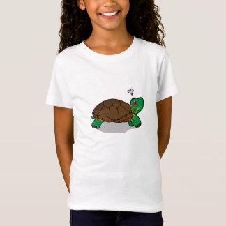 Cute Painted Turtle Red - Kids t-shirts
