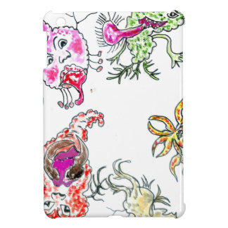 Cute Painted Viruses Cover For The iPad Mini