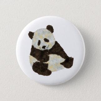 Cute Panda 2 Inch Round Button