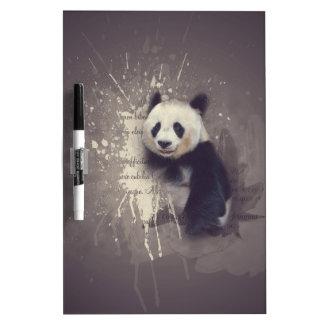 Cute Panda Abstract Dry-Erase Whiteboard