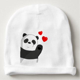 Cute panda baby beanie