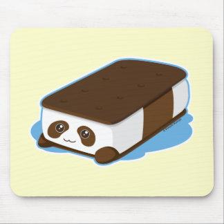 Cute Panda Bar Ice Cream Mouse Pad