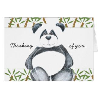 Cute Panda Bear Card