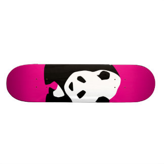 Cute Panda Bear Hot Pink Fuchsia Zoo Wildlife Gift Skate Boards