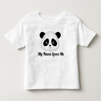 Cute Panda Bear Kawaii Cartoon Face Animals Toddler T-shirt