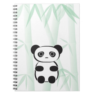 Cute Panda Bear Notebook