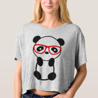 Cute Panda Bear Women T-Shirt
