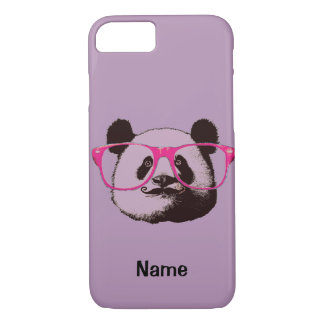 Cute Panda Bears Funny Personalized iPhone 8/7 Case