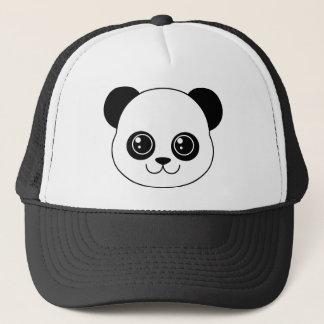 Cute Panda Black Licorice Trucker Hat