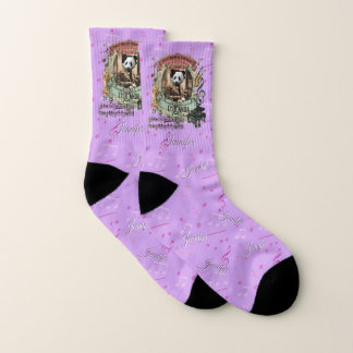 Cute Panda Chopanda Chopin Classical Music Socks