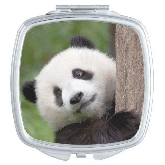 Cute Panda cub Makeup Mirror