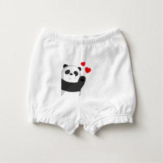 Cute panda diaper cover