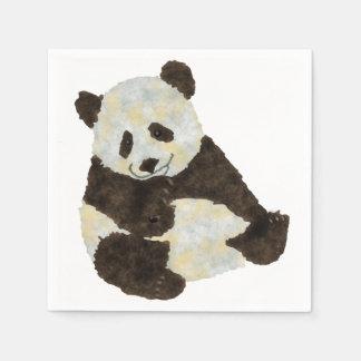 Cute Panda Disposable Napkins