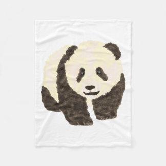 Cute Panda Fleece Blanket