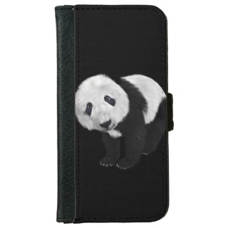 Cute Panda iPhone 6 Wallet Case