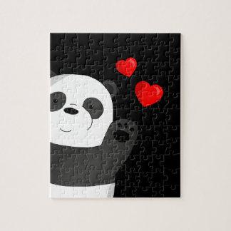 Cute panda jigsaw puzzle
