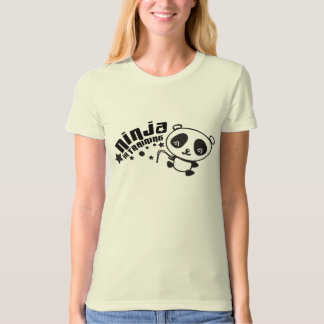Cute Panda Ninja in Training T-Shirt