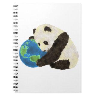 Cute Panda Notebooks