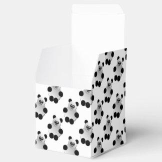 Cute Panda Pattern Favor Box