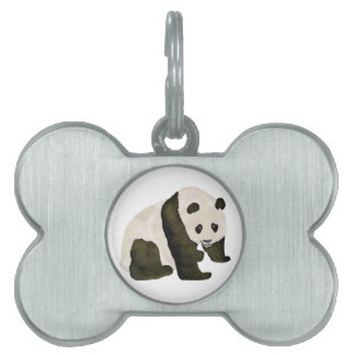 Cute Panda Pet Tag