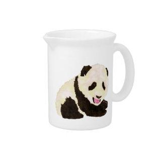 Cute Panda Pitcher