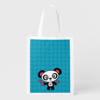 Cute Panda reusable bag