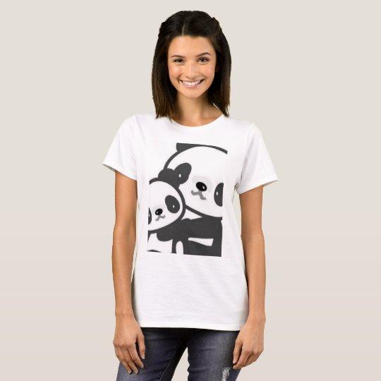 Cute panda summer t shirt zazzle for Cute summer t shirts