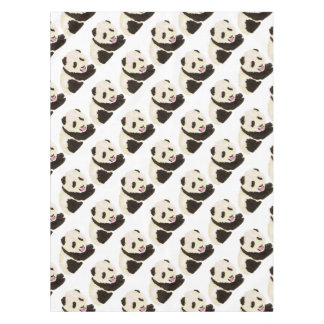 Cute Panda Tablecloth
