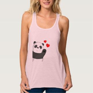 Cute panda tank top