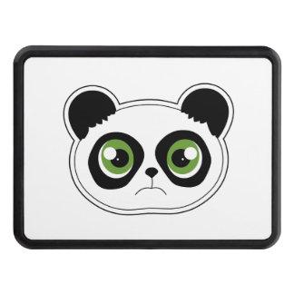 Cute Panda with Attitude - Sad Panda Tow Hitch Cover
