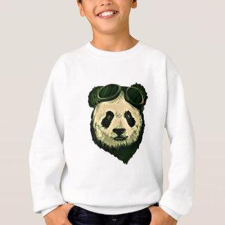 Cute Panda with Glasses Sweatshirt