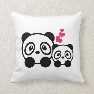 Cute Pandas Cushion