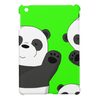 Cute pandas iPad mini case