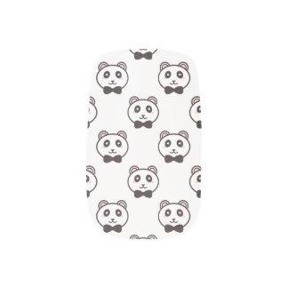 Cute Pandas Minx Nail Art