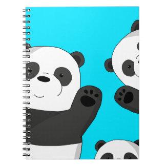 Cute pandas notebook