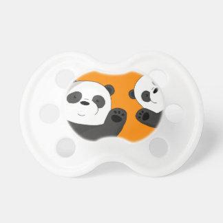 Cute pandas pacifier