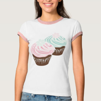Cute Pastel Frosted Cupcakes T-Shirt