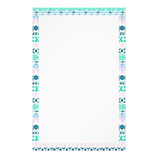 Cute pastel navaho art patterns stationery