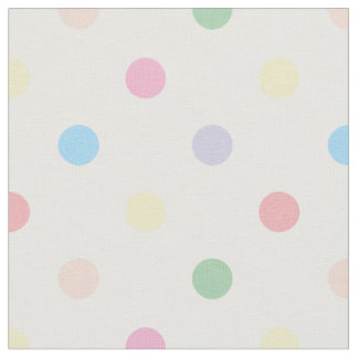 Cute Pastel Polka Dots New Baby Nursery Fabric 3