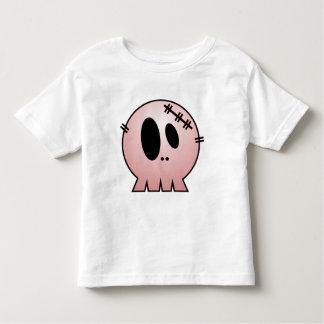 CUTE PATCHY SKULL - RED T-SHIRTS