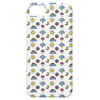 cute pattern weather iPhone 5 case