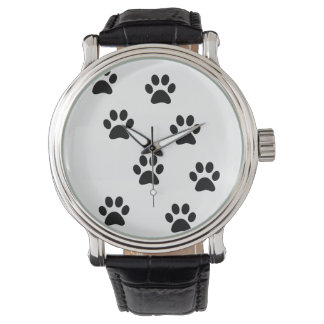 Cute Paw Pattern Wrist Watch