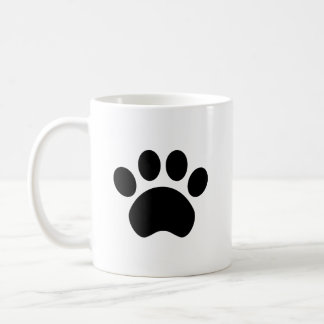 Cute Paw Print Coffee Mug
