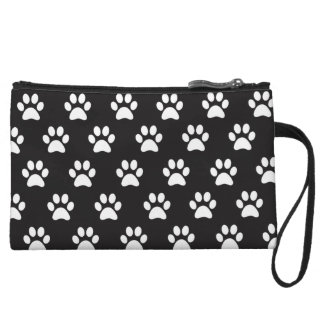 Cute Paw Print Mini Clutch Wristlet Clutches